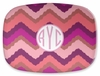 Personalized Serving Platter - Monogram Circle