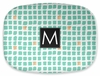 Personalized Serving Platter - Single Initial Square