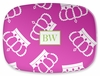 Personalized Serving Platter - Two Initials Square