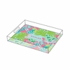 Lilly Pulitzer Personalized Serving Tray in Checking In - Small