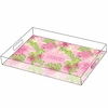 Lilly Pulitzer Personalized Serving Tray in Dirty Shirley - Large