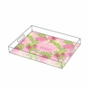 Lilly Pulitzer Personalized Serving Tray in Dirty Shirley - Small