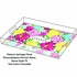 Personalized Serving Tray in Heritage Floral - Large