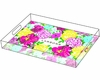 Lilly Pulitzer Personalized Serving Tray in Heritage Floral - Large
