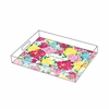 Personalized Serving Tray in Heritage Floral - Small