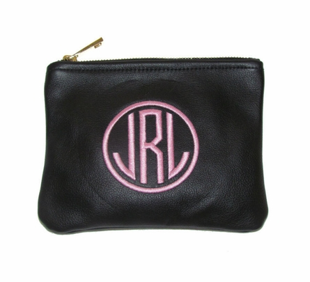 Personalized Monogram Small Zipper Pouch
