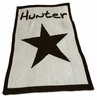 Personalized Star Name Stroller Blanket