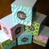 Personalized Sticky Note Cube - Single Initial Circle