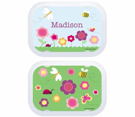 Personalized Sunny Garden Lunch Box - Green