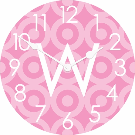 Personalized Targets Wall Clock