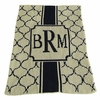 Personalized Monogram The Sophisticate Blanket