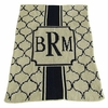 Personalized Monogram The Sophisticate Stroller Blanket