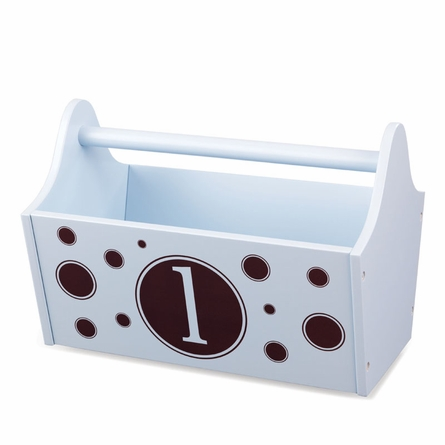 Personalized Toy Caddy - Sky