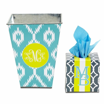 Personalized Waste Basket in Multiple Designs