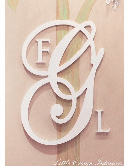 Personalized Wooden Wall Monogram