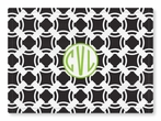 Personalized Woven Placemat - Monogram Circle