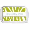 Personalized Zebra Casserole Serving Dish