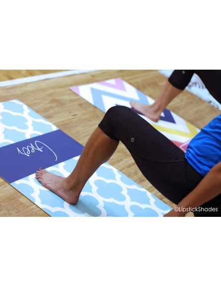 Personalized Zebras Yoga Mat