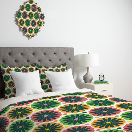 Petal Fair Garden Lightweight Duvet Cover