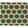 Petal Fair Garden Fleece Throw Blanket