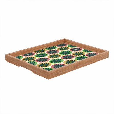 Petal Fair Garden Rectangle Tray