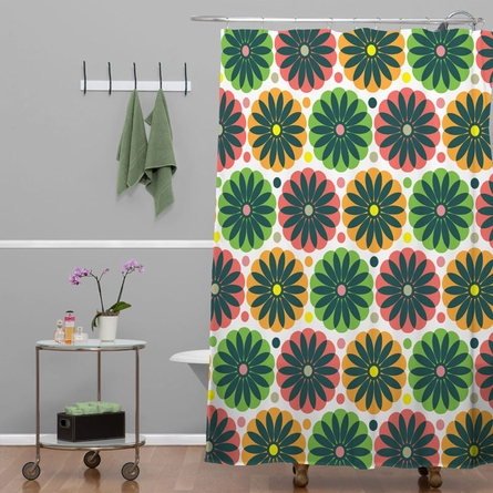 Petal Fair Garden Shower Curtain