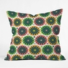 Petal Fair Garden Throw Pillow