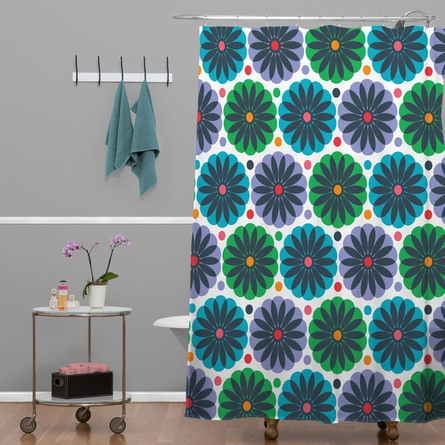 Petal Fair Greenhouse Shower Curtain