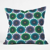 Petal Fair Greenhouse Throw Pillow