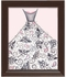 Petal Princess Framed Canvas Reproduction