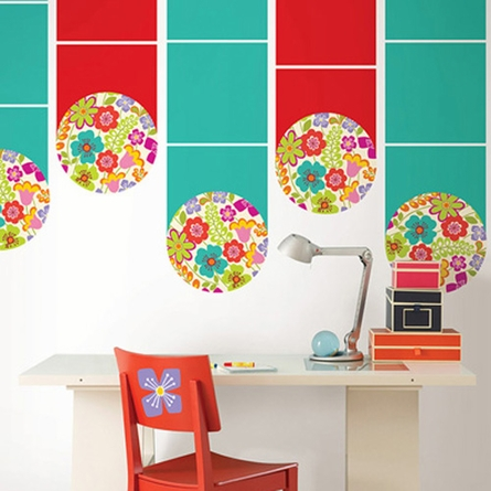 Petals Dot Wall Decals