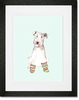 Peter In Socks Framed Art Print
