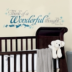 Peter Pan Wonderful Thought Wall Decals