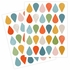 Petit Drops Fabric Wall Decals