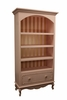 Petite Amie Bookcase with Hand-Painted Details