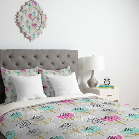 Petite Street Floral Luxe Duvet Cover