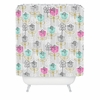 Petite Street Floral Shower Curtain
