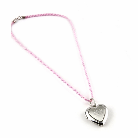 Pewter Heart Shaped Locket