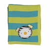 Phin Striped Knit Blanket