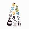 Phinley Penguin and Numbers Wall Decals