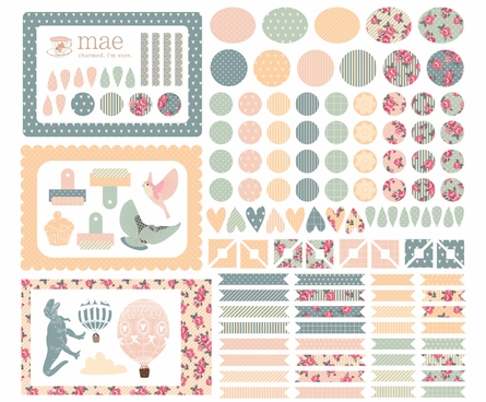 Photo Dots Fabric Wall Decals