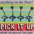 Pick It Up Canvas Wall Art
