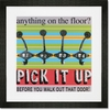 Pick It Up Framed Art Print