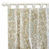 On Sale Picket Fence Curtain Panels - Set of 2