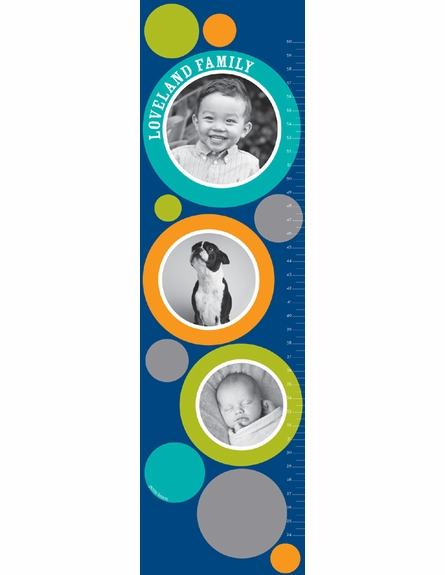 Picture Me Personalized Photo Growth Chart