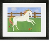 Picturesque Prance Framed Art Print