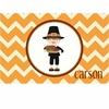 Pilgrim Boy Personalized Placemat