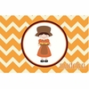 Pilgrim Girl Personalized Placemat