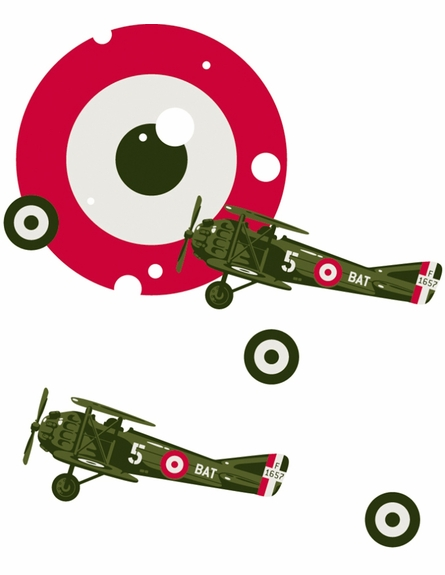 Pilot Peel & Stick Wall Decals