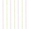 Pink and Lime Green Squiggle Stripe Wallpaper